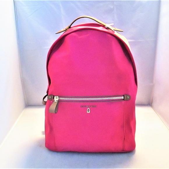 e055d54ff958e3 Michael Kors Bags | Kelsey Large Nylon Backpack | Poshmark